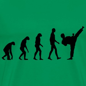 Evolution Fight T-Shirts - Men's Premium T-Shirt