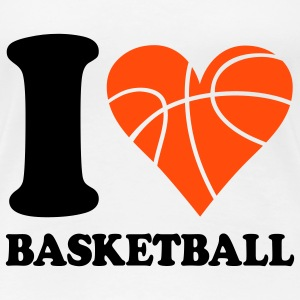 I love Basketball T-Shirts - Women's Premium T-Shirt