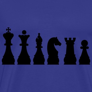 Evolution Chess T-Shirts - Men's Premium T-Shirt