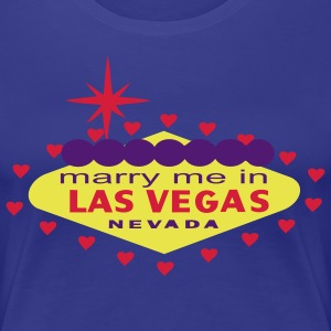 MARRY ME IN LAS VEGAS T-SHIRT - T-shirt Premium Femme