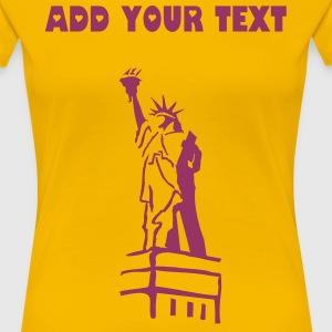 CREATE YOUR OWN NEW YORK T-SHIRT - Women's Premium T-Shirt
