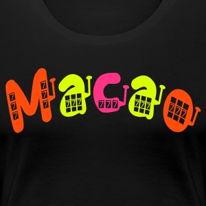 CREATE YOUR OWN MACAO T-SHIRT - Women's Premium T-Shirt