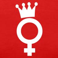 Motiv ~ Drama Queen White Logo - T-Shirt
