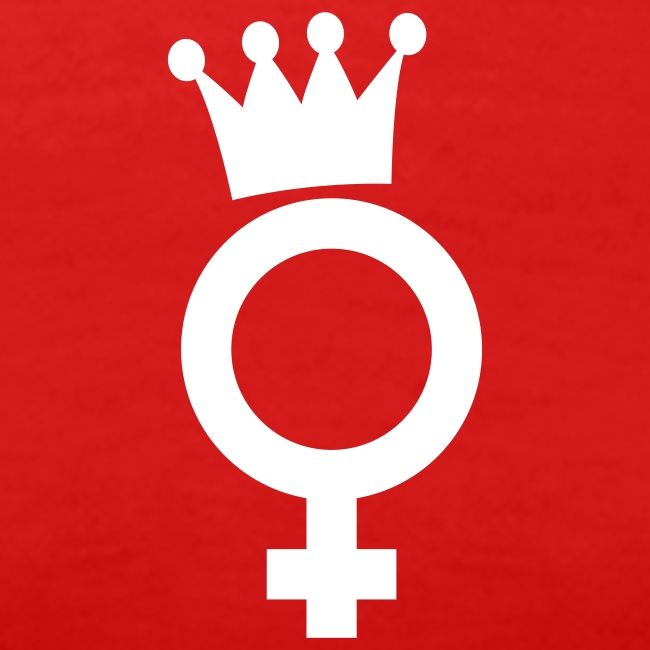 Drama Queen White Logo - T-Shirt