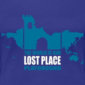 lost place - 2colors - Frauen Premium T-Shirt
