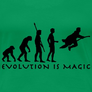 evolution_potter_1c_b T-Shirts - Women's Premium T-Shirt