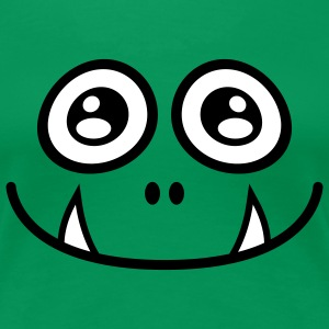 Cute Monster | Süsses Monster | Smile | Freude T-Shirts - T-shirt Premium Femme