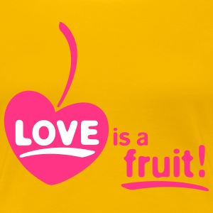 LOVE FRUIT 2c - Women's Premium T-Shirt