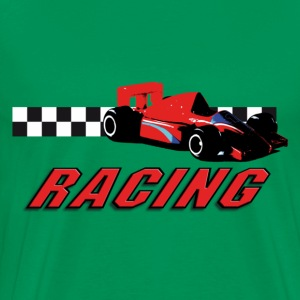 car_racer_e T-Shirts - Men's Premium T-Shirt