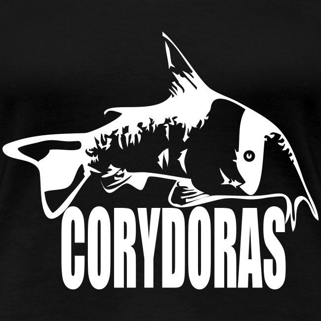 Corydoras t-skjorte for jenter