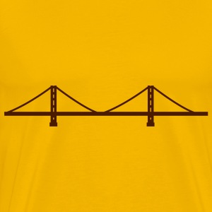 San Francisco - Golden Gate T-skjorter - Premium T-skjorte for menn