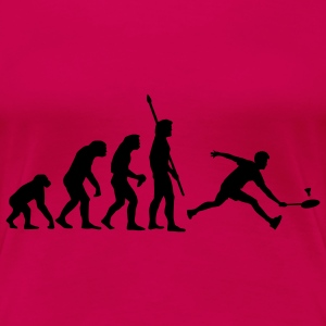 evolution_badminton_022011_a_1c T-Shirts - Women's Premium T-Shirt
