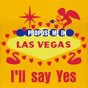 DESIGN STUFF FOR YOUR LAS VEGAS WEDDING OR HONEYMOON - Women's Premium T-Shirt