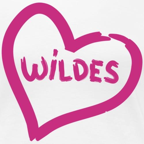 Herz Wild liebe pink