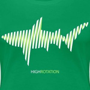 highrotation - Frauen Premium T-Shirt