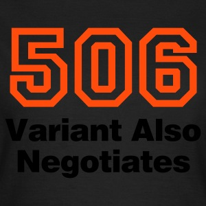 Chocolate Error 506 © T-Shirts - Vrouwen T-shirt