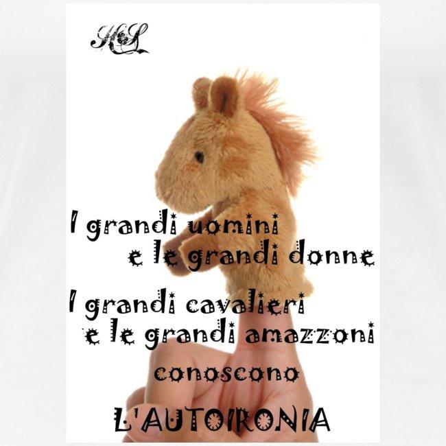 Autoironia horse
