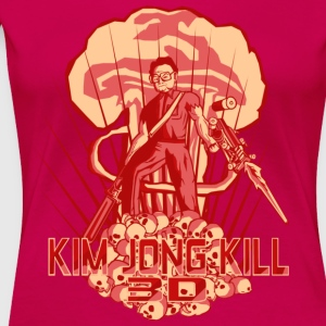 Hail To The Kim, Baby! - Women's Premium T-Shirt