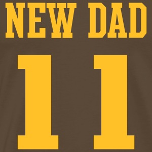 NEW DAD 2011 T-Shirt - Gelb - Männer Premium T-Shirt