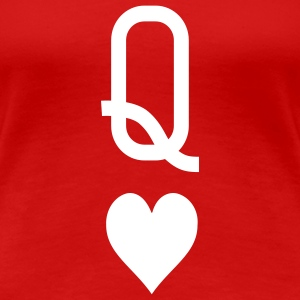 Queen_of_hearts T-Shirts - Women's Premium T-Shirt
