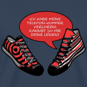 TALKING SHOES - TELEFONNUMMER | Männershirt XXXL - Männer Premium T-Shirt