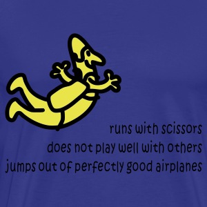 Runs With Scissors - Men's Premium T-Shirt