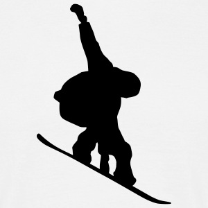 Snowboarder T-shirts - T-shirt Homme