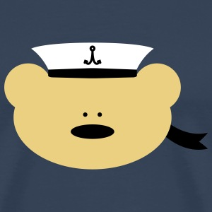 Teddy Bear Sailor T-shirt - Maglietta Premium da uomo