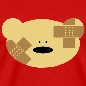 Teddy Bear patch T-Shirts - Men's Premium T-Shirt
