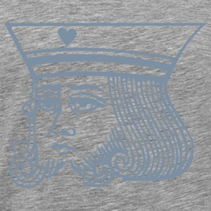 Kings Face T-Shirts - Men's Premium T-Shirt