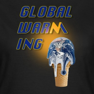 Marron bistre Global Warming T-shirts - T-shirt Femme