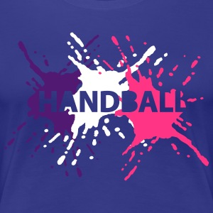 Türkis 3 Splash Handball T-Shirts - Frauen Premium T-Shirt