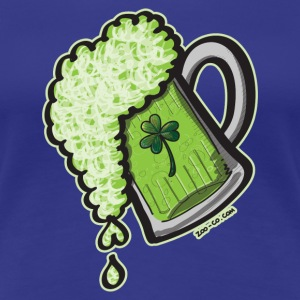 Saint Patrick's Day Glass of Beer T-Shirts - Women's Premium T-Shirt