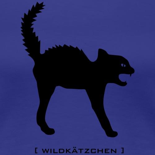 Katze Wildkätzchen kätzchen mieze Buckel fauchend tier wild