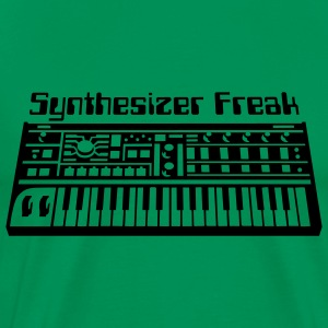 Synthesizer Freak T-shirts - T-shirt Premium Homme