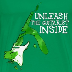 Guitarist Inside T-Shirts