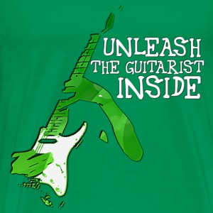 Guitarist Inside T-Shirts - Men's Premium T-Shirt