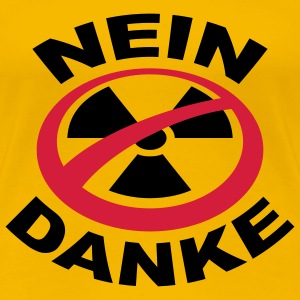 Girlieshirt Atomkraft Nein Danke 54 © by kally ART®  - Frauen Premium T-Shirt