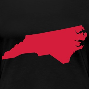 north carolina usa Camisetas - Camiseta premium mujer