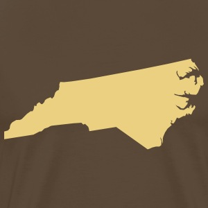 north carolina usa T-shirts - T-shirt Premium Homme