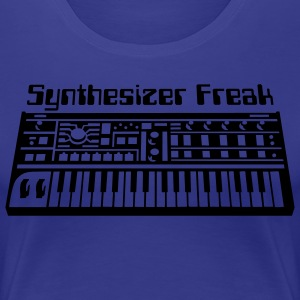 Synthesizer Freak T-Shirts - Frauen Premium T-Shirt