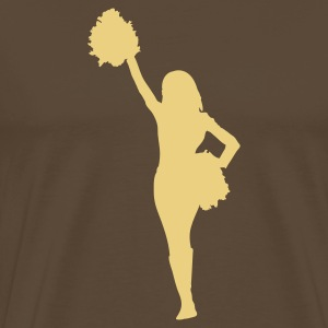cheerleader football Camisetas - Camiseta premium hombre