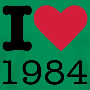 I Love 1984 T-Shirts - Men's Premium T-Shirt