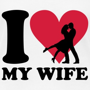 I love my Wife T-Shirts - Women's Premium T-Shirt