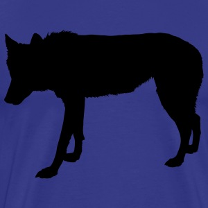 wolf animal T-shirts - T-shirt Premium Homme