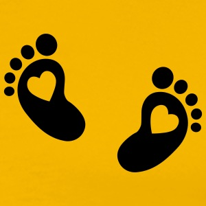 Baby feet T-Shirts - Men's Premium T-Shirt