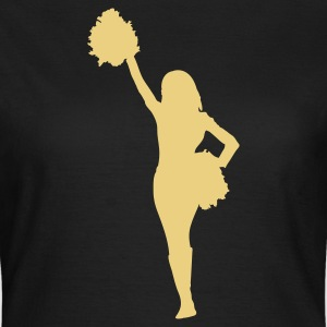 cheerleader football T-shirts - T-shirt Femme