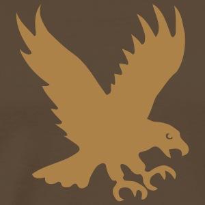 eagle bird of prey predator wild wings feather