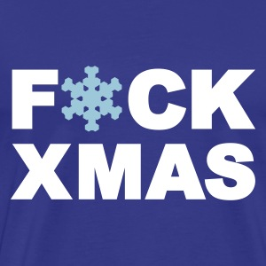 Royal blue Fuck Xmas - Christmas Men's T-Shirts - Men's Premium T-Shirt