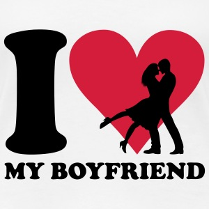 I love my Boyfriend T-Shirts - Frauen Premium T-Shirt